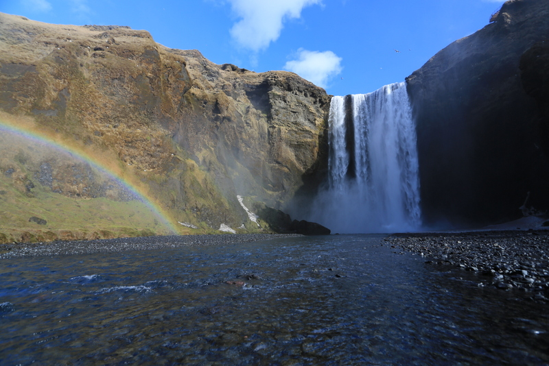Skogarfoss waterfall, South Iceland.JPG