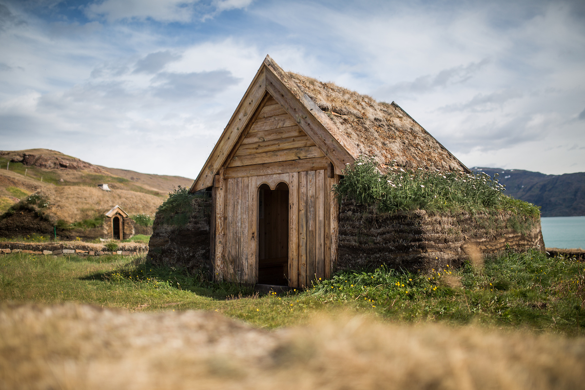 Tjodhilde's church - a reconstruction of church from the norse presence in Greenland 1,000 years ago.jpg