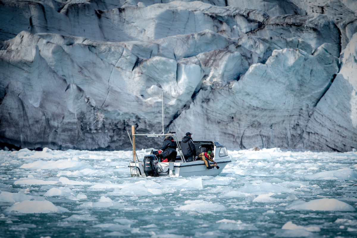 Photographers shooting ice and glaciers near Kulusuk in East Greenland.jpg